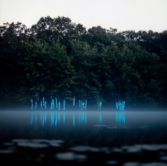 Glowing Light Installations Produce Ethereal Landscapes