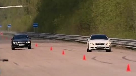 Mercedes-Benz CL65 AMG Evotech vs BMW M6 Evotech