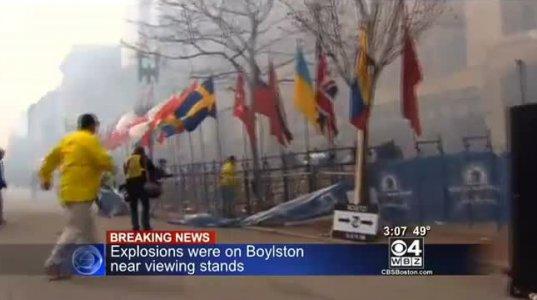 2 აფეთქება ბოსტონის მარათონზე
