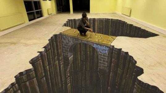 საუკეთესო 3D ქუჩის ხელოვნება