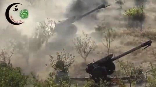 სირიის ომის ამსახველი ვიდეო