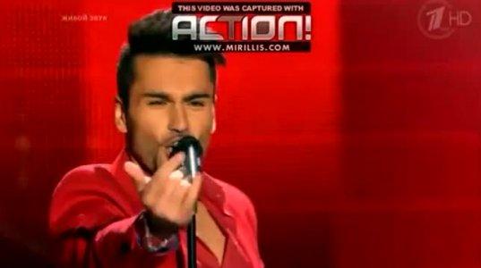 ქართველმა მომღერალმა რუსული Voice-ს ოთხივე ჟიურის წევრი გააგიჟა